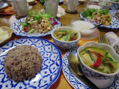ベジタリアン・タイ料理基礎第1回