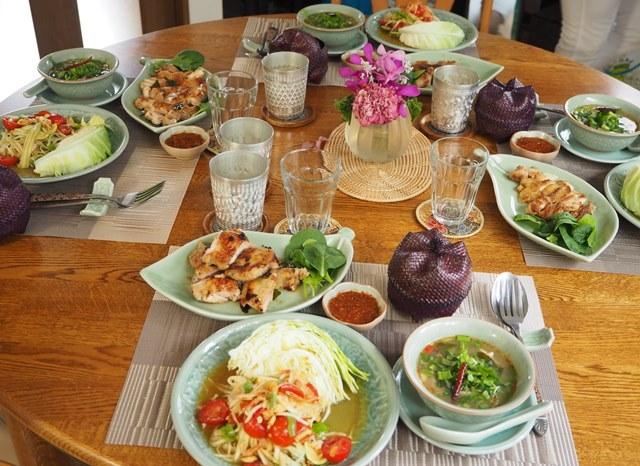 本格タイ料理Cコース第6回