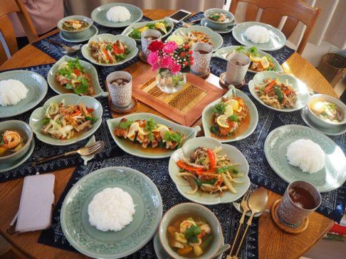 本格タイ料理Gコース第3回