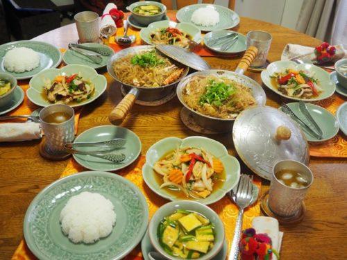 本格タイ料理Cコース第3回