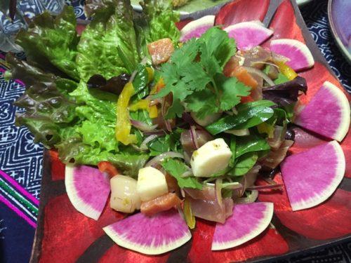 タイ風海鮮サラダ