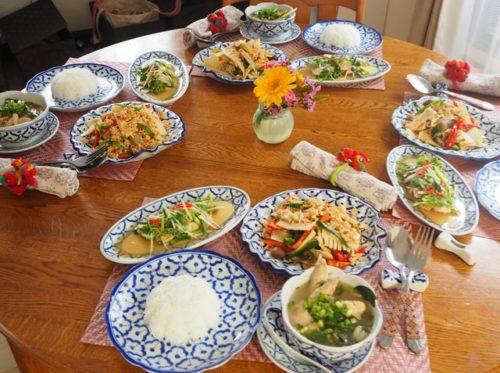 本格タイ料理Lコース第5回