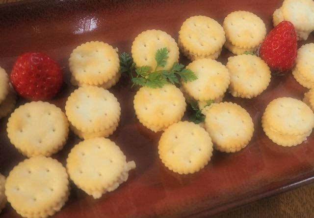 豆腐のおから味噌漬けサンド