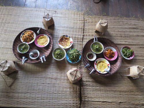 カレン族のお昼ご飯