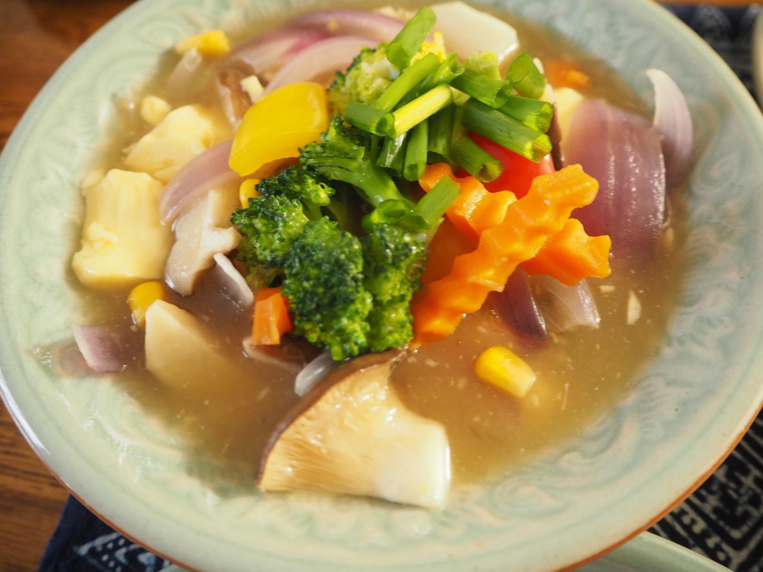 豆腐と彩野菜煮